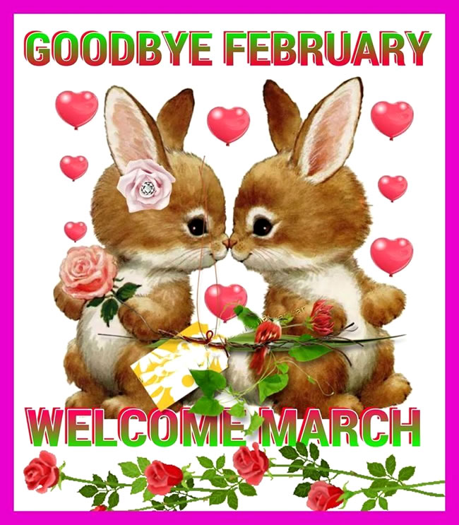 Hello March Images For Facebook Cover Page