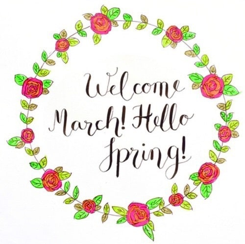 Hello March Images, Pics