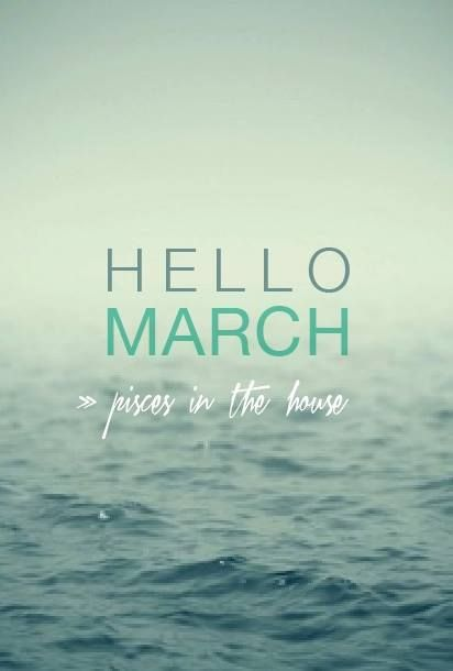 Hello March Images Printable