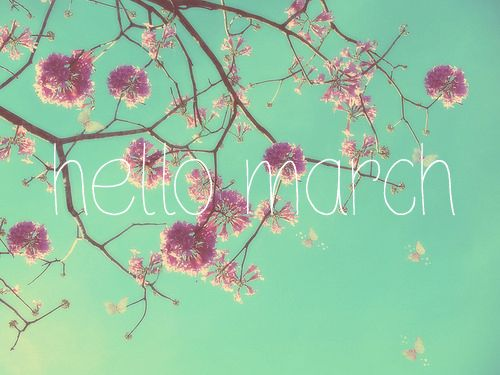 Hello March Images Word