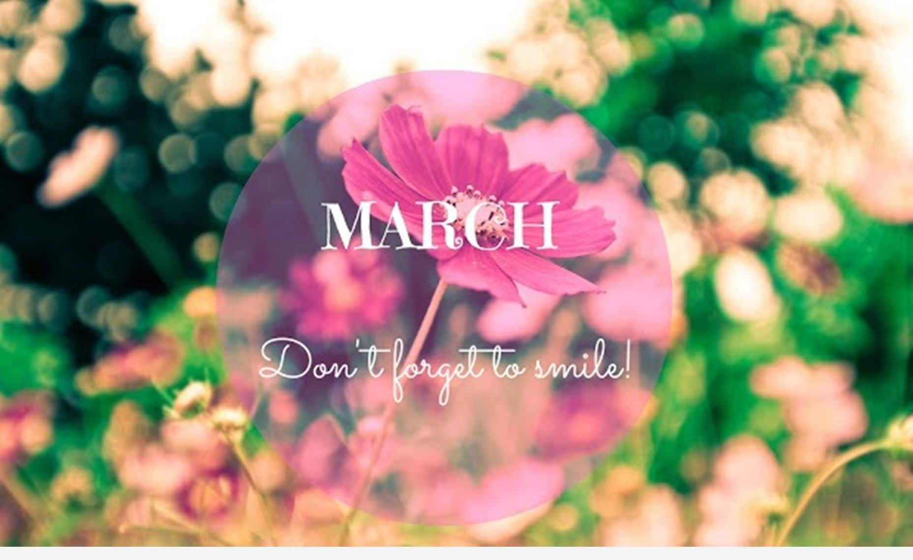 Hello March Quotes English
