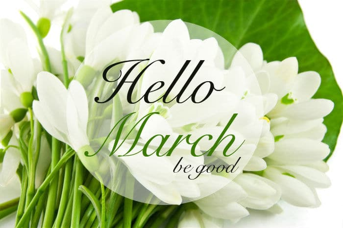 Hello March Quotes Printable