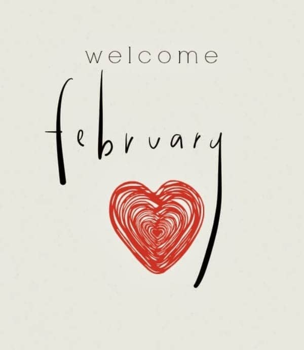 Images Welcome February