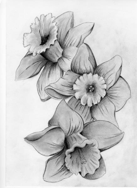 March Birth Flower Necklace