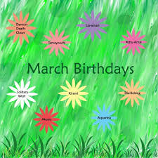 March Birthday Images, Quotes