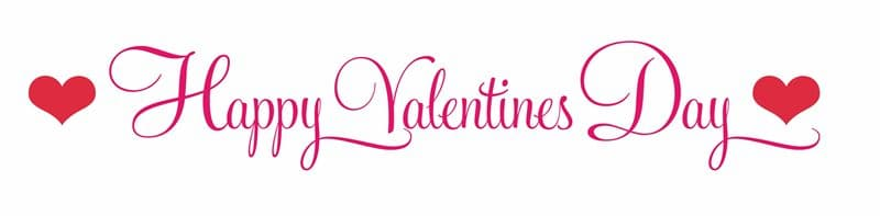 Valentine's Day Banners Clipart