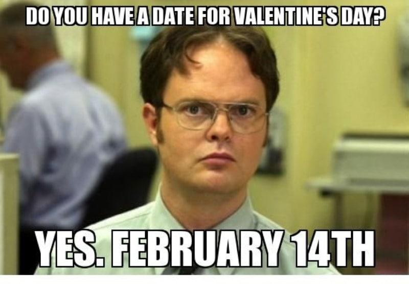 Valentine's Day Memes For Females