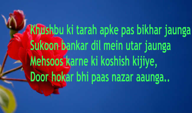 Valentine's Day Shayari in Hindi