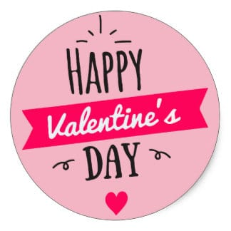 Valentine's Day Stickers Ecards