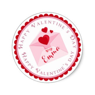 Valentine's Day Stickers Greetings