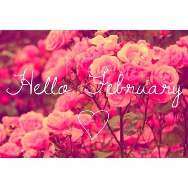 Welcome February Images Printable