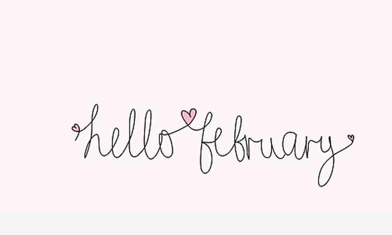 Welcome February Quotes Template