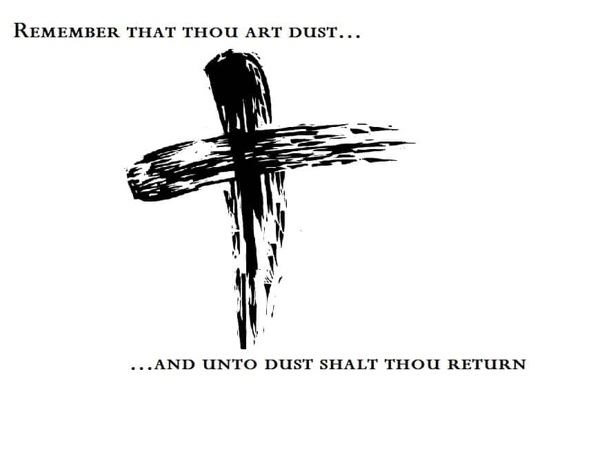 2018 Ash Wednesday Sayings