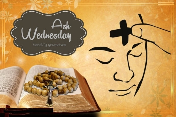 2018 Ash Wednesday Wishes