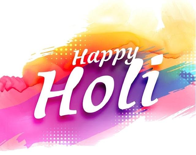 Happy Holi 2018 Photos