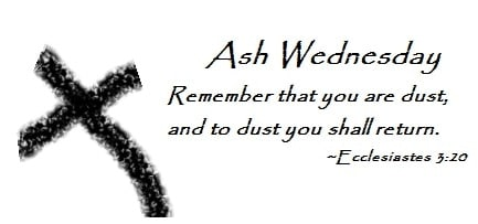 Ash Wednesday 2018 Wishes