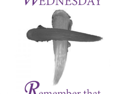 Ash Wednesday Bible Verse Image