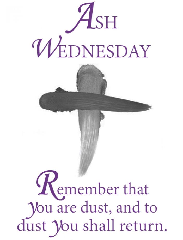 Ash Wednesday Bible Verse Image