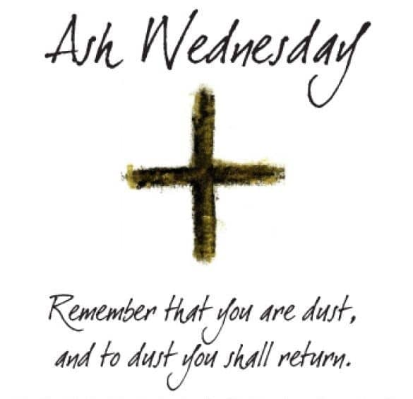 Ash Wednesday Bible Verse Pic