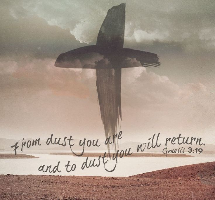 Ash Wednesday Bible Verse Wallpaper
