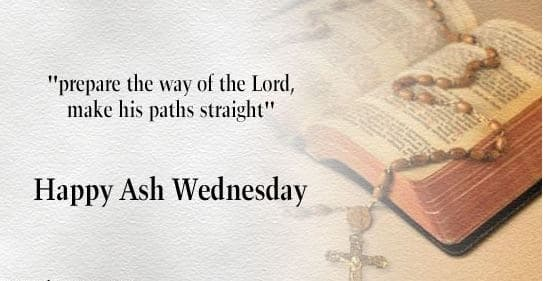 Ash Wednesday Catholic Quotes