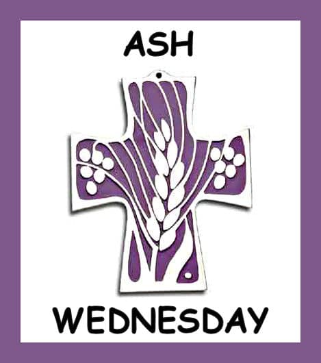 Ash Wednesday Clipart