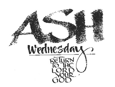 Ash Wednesday Family Greetings Image