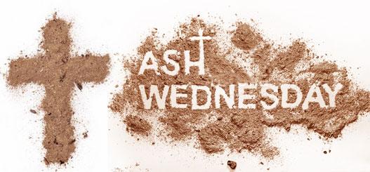 Ash Wednesday Greetings 2018