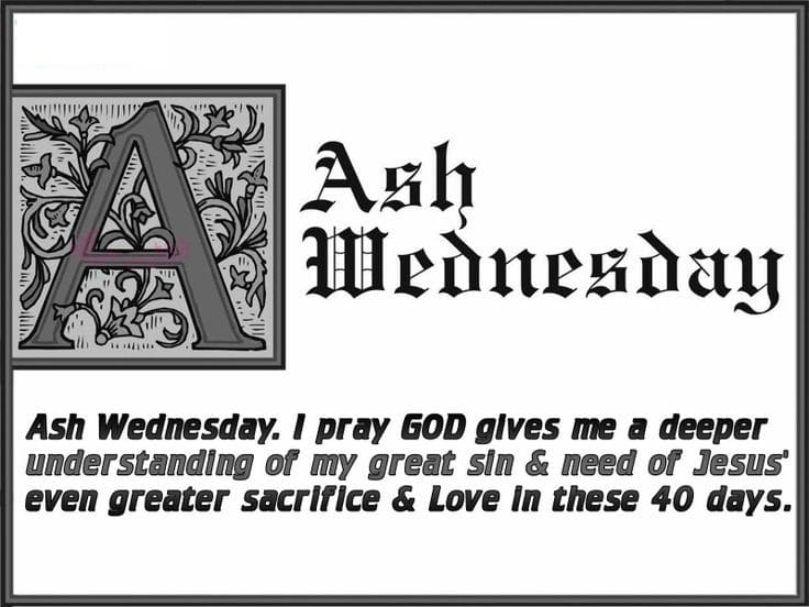 Ash Wednesday Greetings
