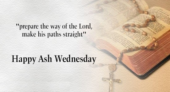 Ash Wednesday Prayer Wishes