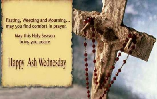 Ash Wednesday Quotes in English
