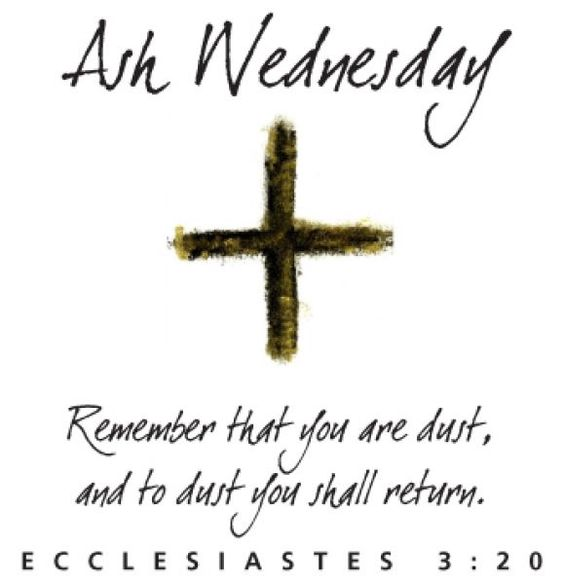 Ash Wednesday Sayings, Images