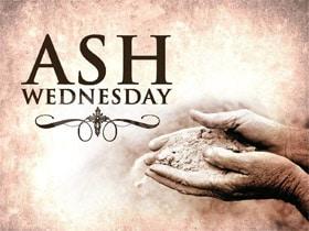 Ash Wednesday Sayings Pics