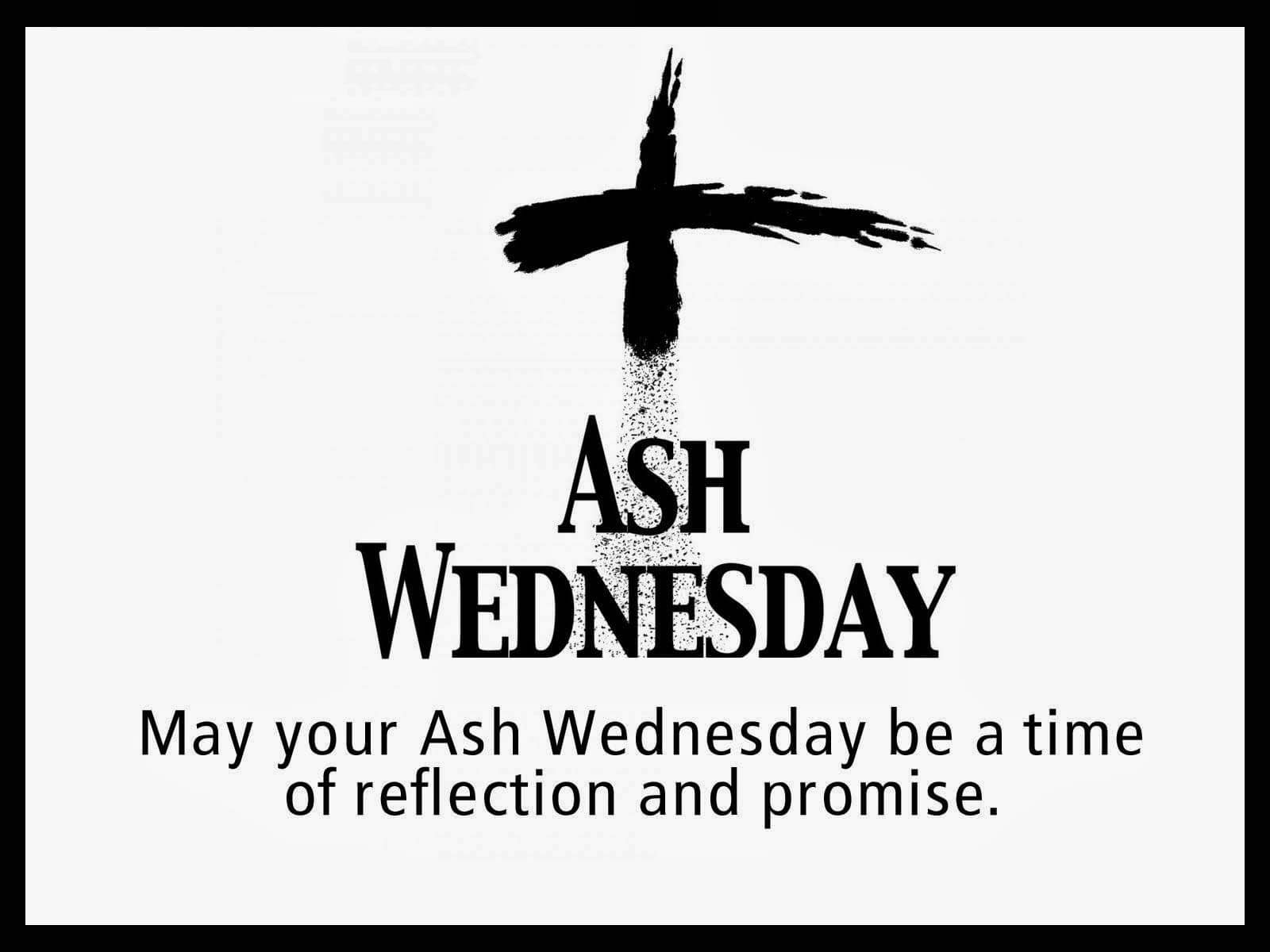 Ash Wednesday Sayings Pictures
