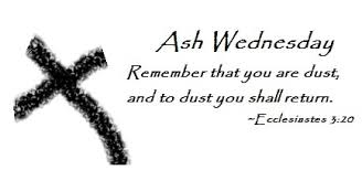 Ash Wednesday Sayings, Quotes