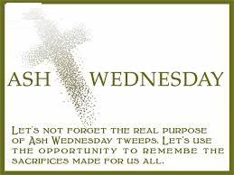Ash Wednesday Wishes Cross