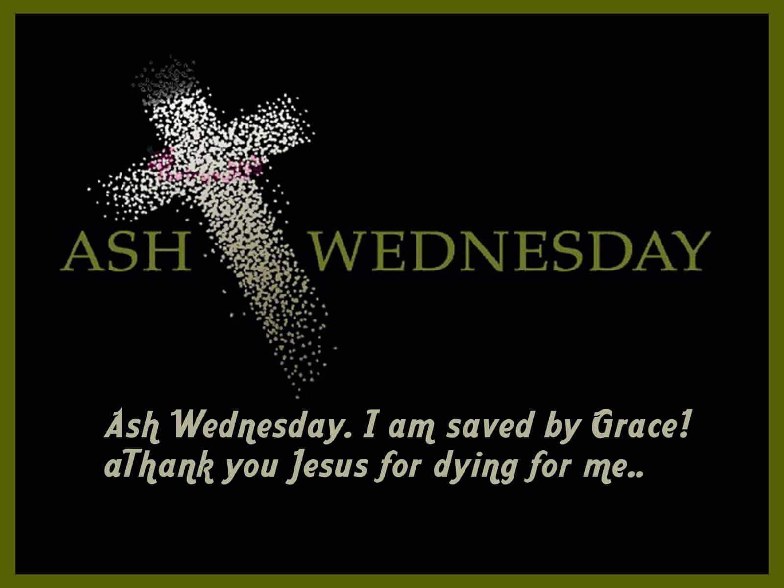 Ash Wednesday Wishes Pictures