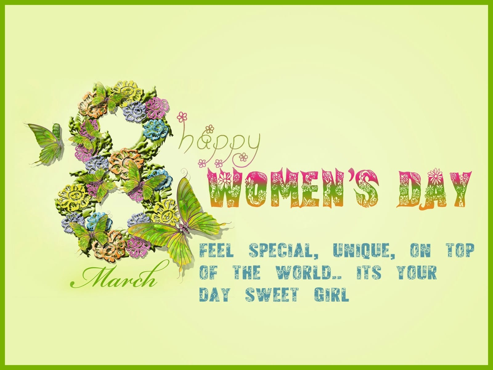 Happy 8th March Women's Day Quotes
