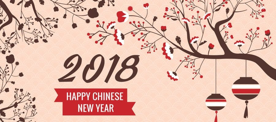 Happy Chinese New Year Greetings 2018