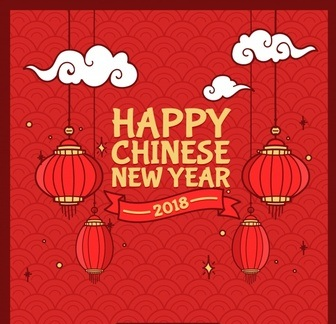 Happy Chinese New Year Greetings Photo
