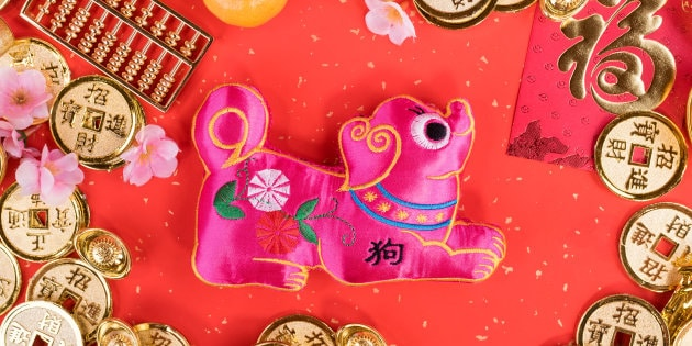 Happy Chinese New Year Greetings Wallpaper