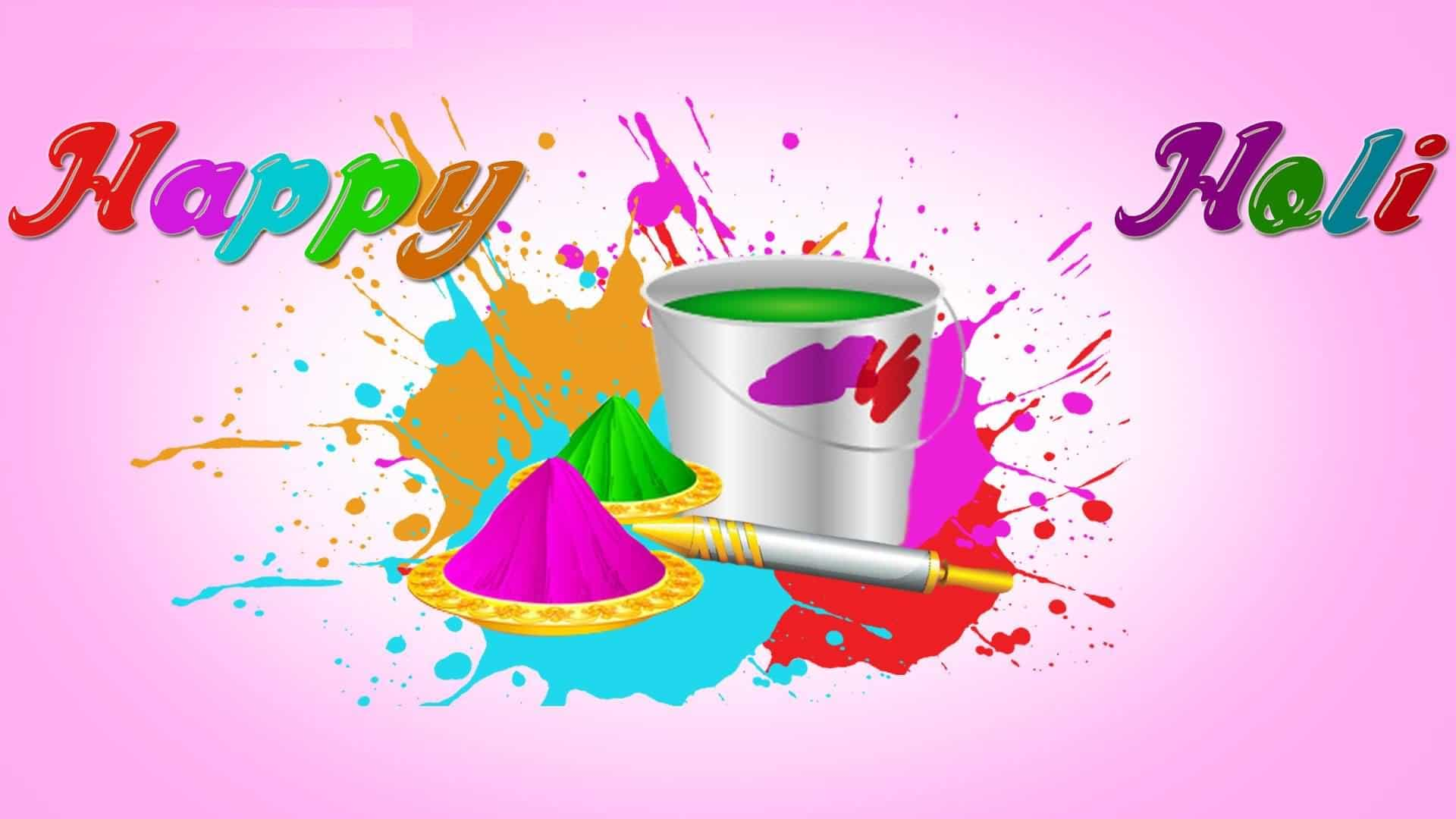 Happy Holi 2018 Photos