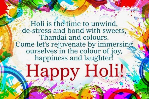 Happy Holi 2018 Quotes