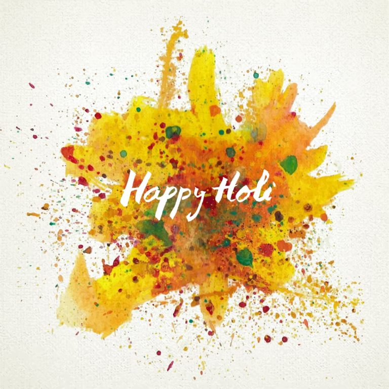 Happy Holi 2018 WhatsApp DP