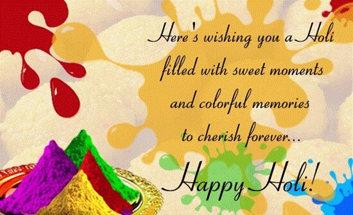 Happy Holi 2018 Wishes
