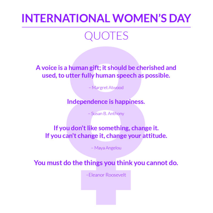 Happy Women's Day Speech