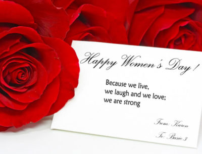 Happy Women's Day Greetings