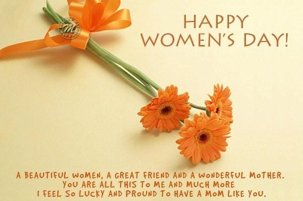 Happy Women's Day Greetings