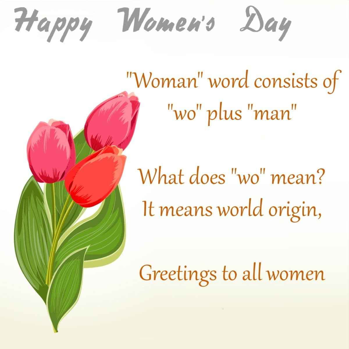 Happy Women's Day Sayings