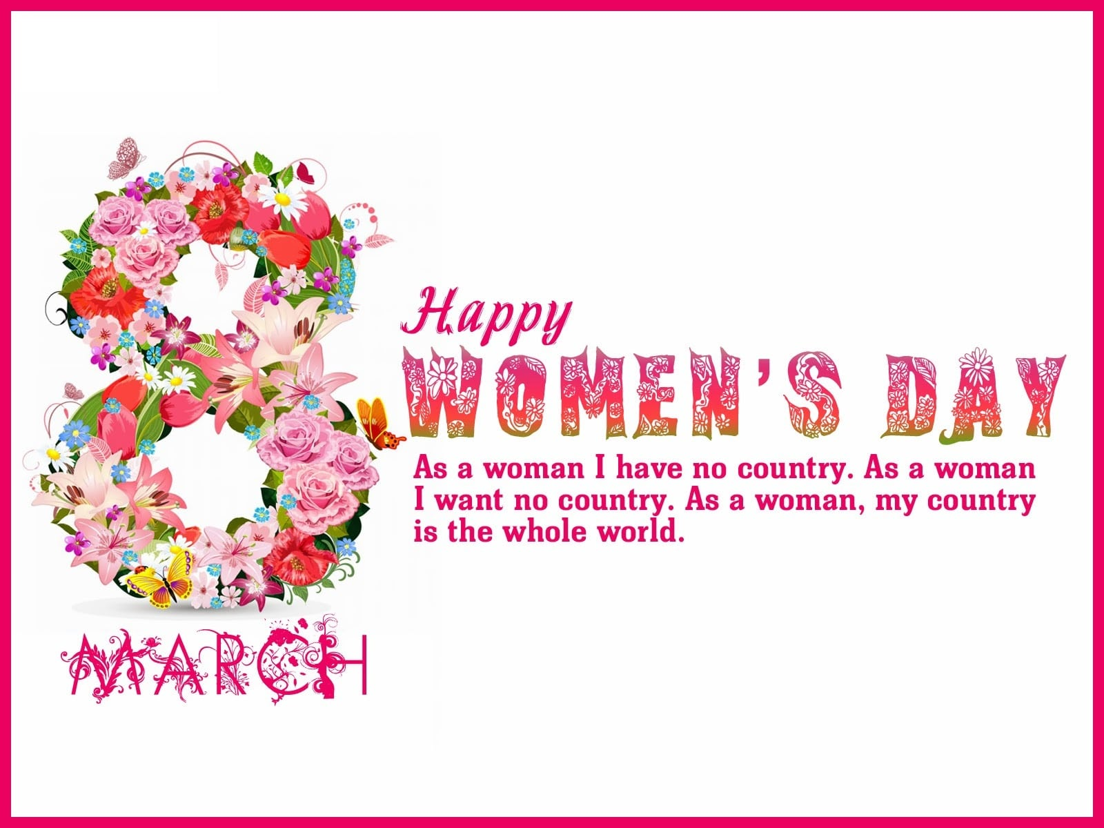 Happy Women's Day Wishes